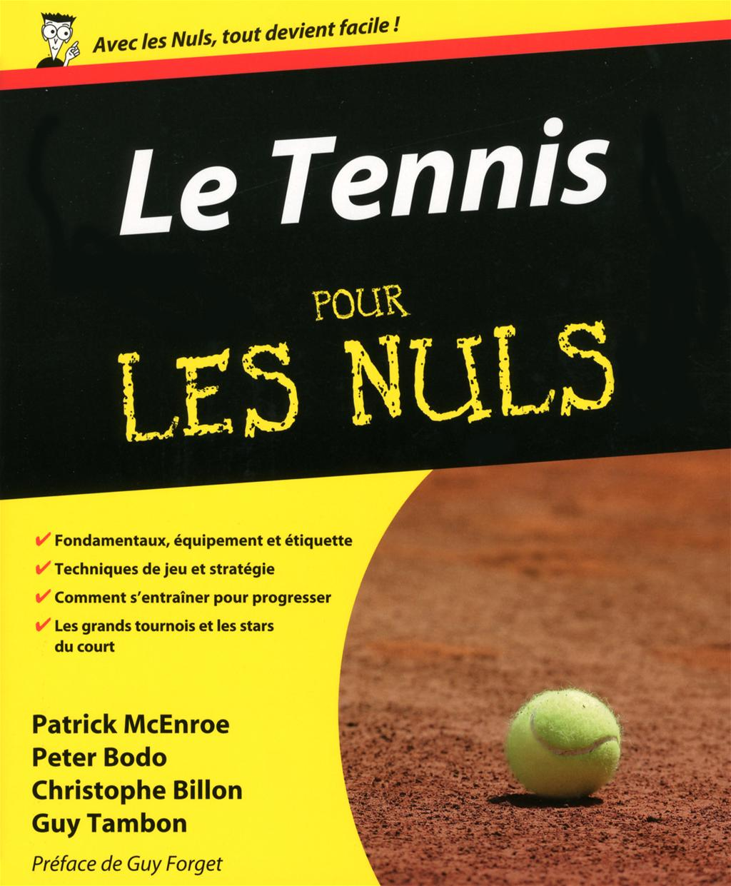 livre le tennis pour les nuls messageries adp. Black Bedroom Furniture Sets. Home Design Ideas
