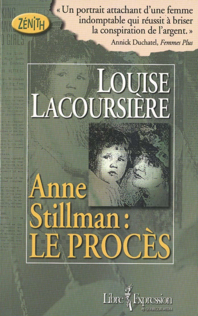 ANNE STILLMAN: LE PROCES